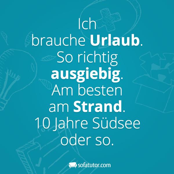 Urlaub on pinterest zitate hamburg and homer simpson - Spruch urlaub ...