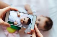 Kinder-Fotos Instagram