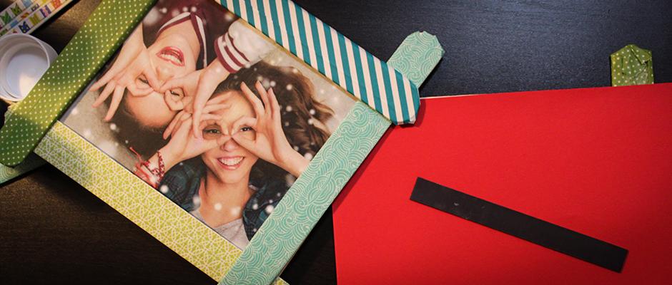 weihnachtsgeschenke sch ne bilderrahmen selber machen. Black Bedroom Furniture Sets. Home Design Ideas